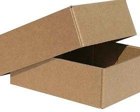 Картонные коробки с крышкой купить