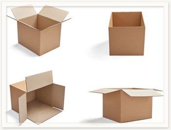 Изготовление картонных ящиков