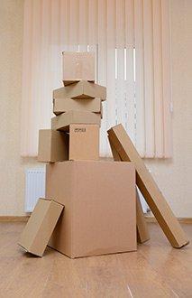 Купить картонную коробку для упаковки от производителя
