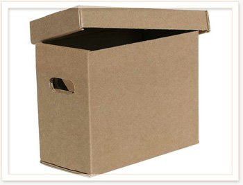 Короба архивные картонные